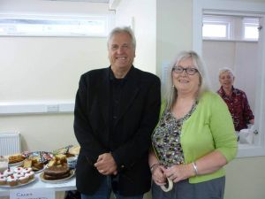 Cakes, David, Caroline and Jean