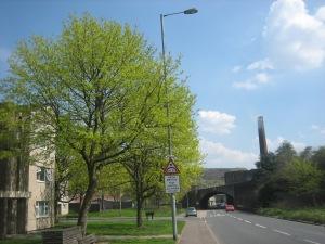 Burnley Road Railway Bridge