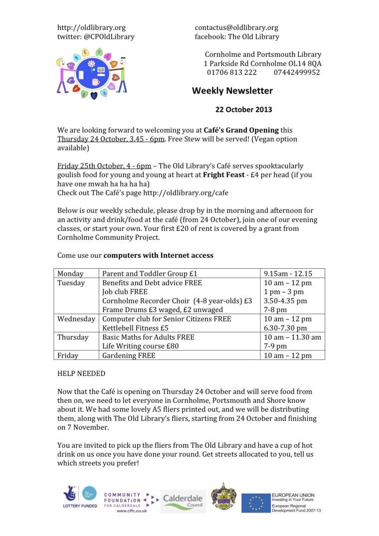 TOLNewsletter22102013CFW
