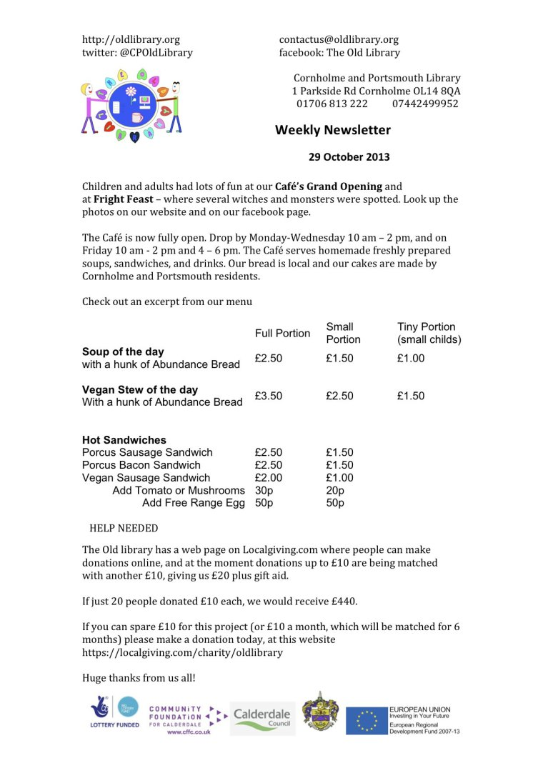 TOLNewsletter29102013CFW