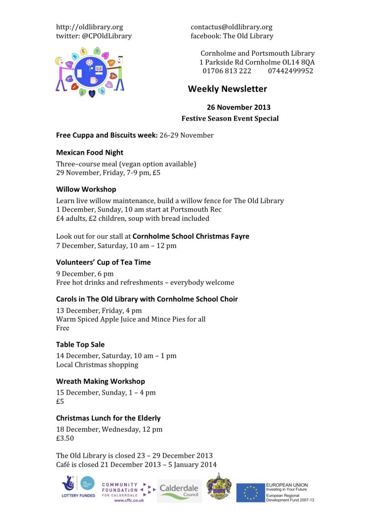 TOLNewsletter26112013CFW