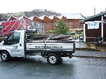 Dropping off the railway sleepers