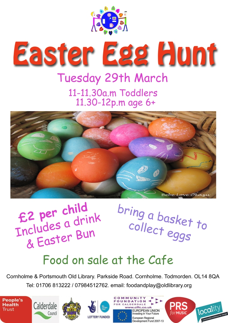 Easter egg hunt poster 2016
