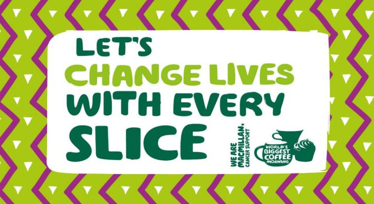 MACMILLAN COFFEE MORNING graphic
